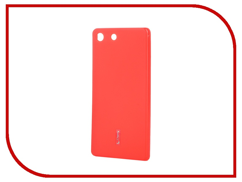 ��������� �����-�������� Sony Xperia M5/M5 Dual Cherry Red 8317