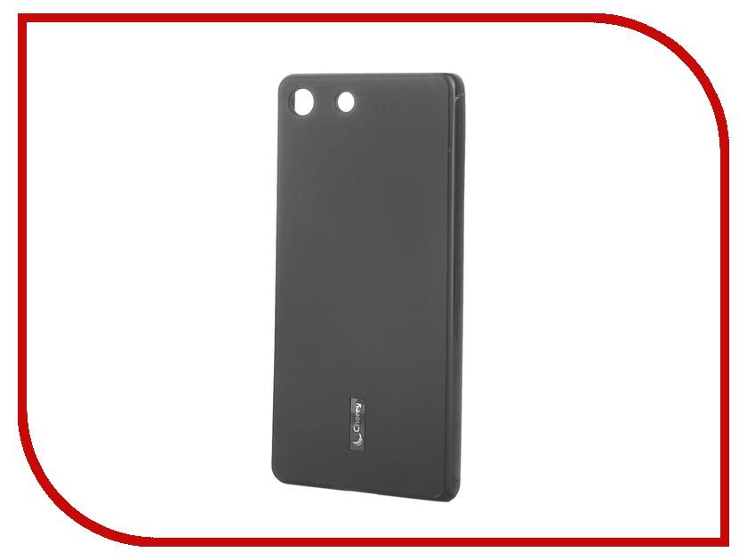 Аксессуар Чехол-накладка Sony Xperia M5/M5 Dual Cherry Black 8319<br>