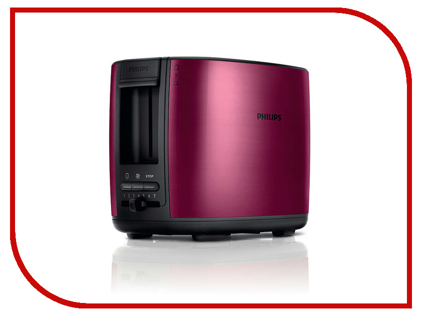 Тостер Philips HD 2628/00 кофеварка philips hd 7447 00