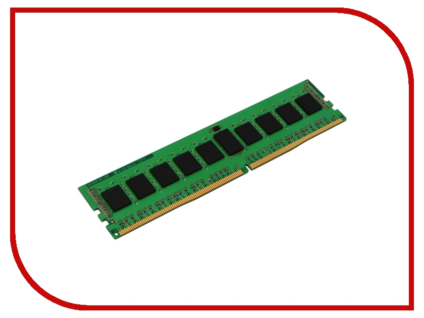 Модуль памяти Kingston PC4-17000 DIMM DDR4 2133MHz ECC CL15 - 4Gb KVR21R15S8/4 память ddr4 dell 370 acky 4gb dimm ecc u pc4 17000 2133mhz