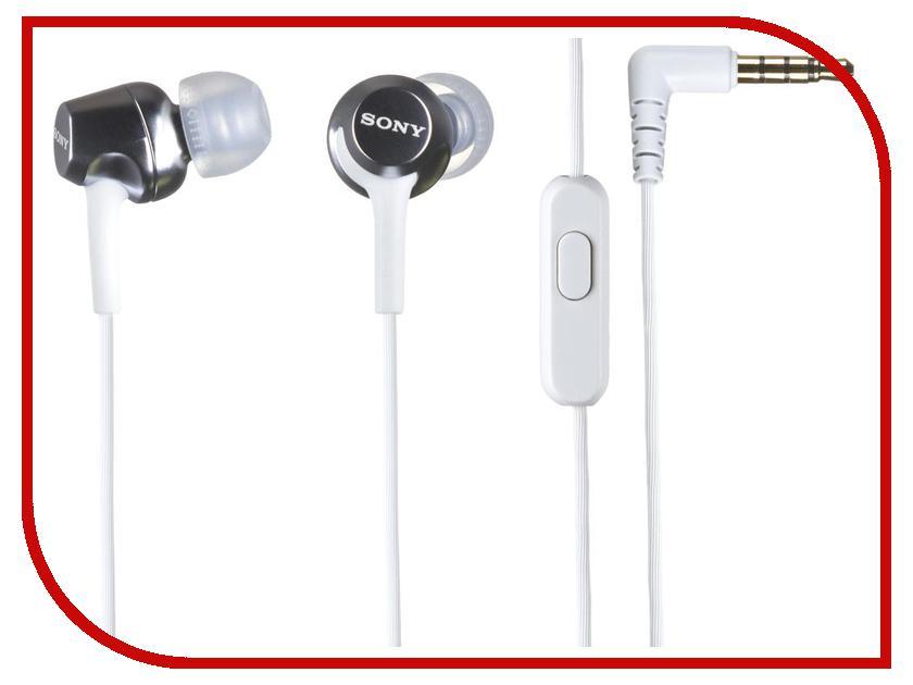 Гарнитура Sony MDR-EX250AP White<br>