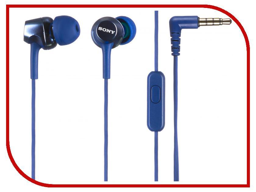 Гарнитура Sony MDR-EX250AP Blue<br>