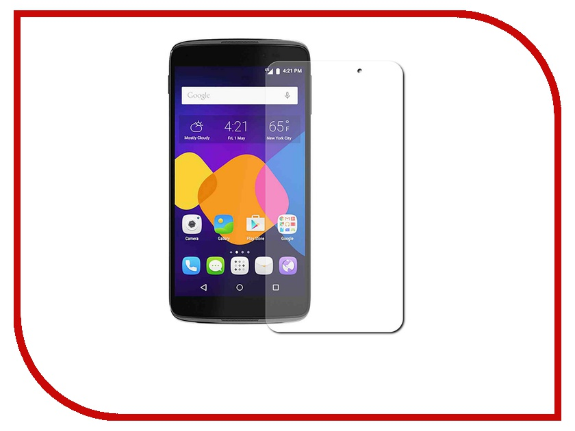 ��������� �������� ������ Alcatel OneTouch 6045 Idol 3 (5.5) Red Line