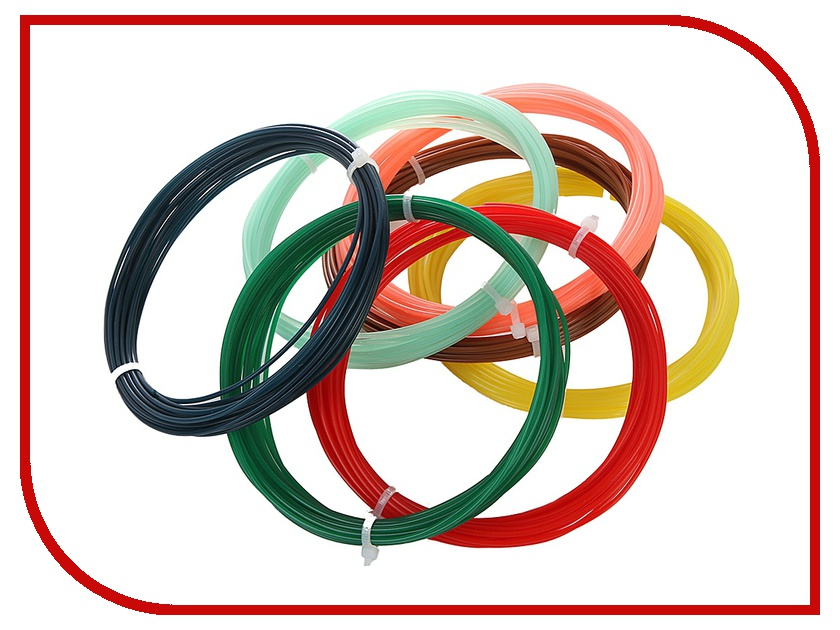 Аксессуар Funtastique PLA-пластик 7 цветов