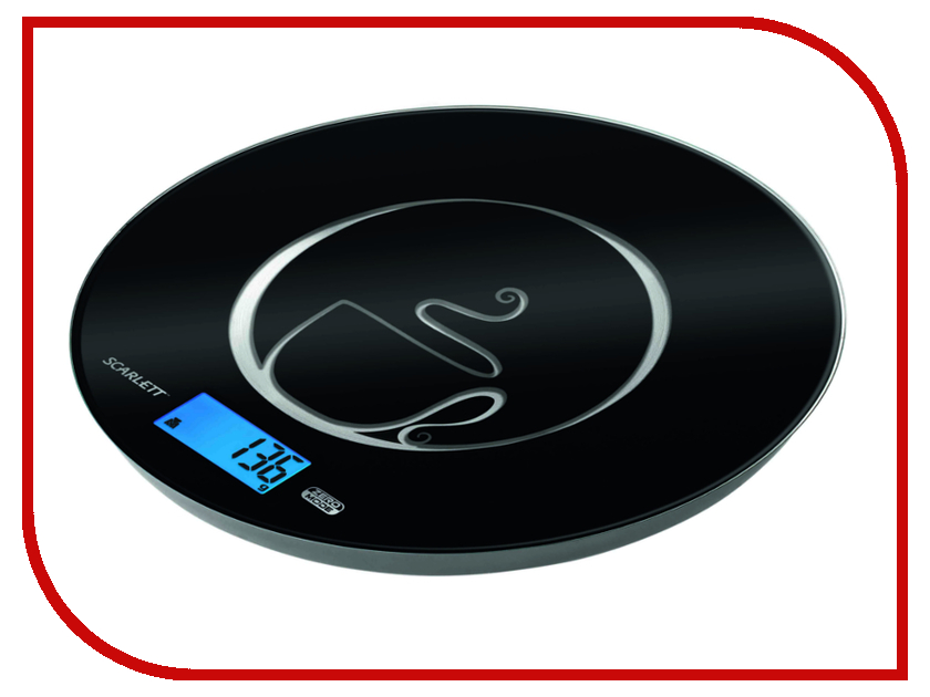 Весы Scarlett SC-1215 Black