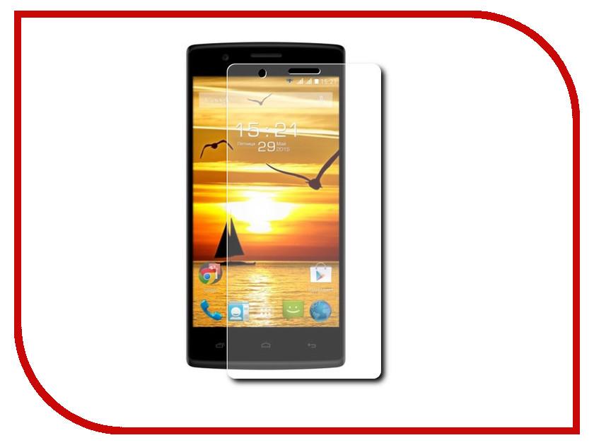 Аксессуар Защитная пленка Fly FS452 Nimbus 2 LuxCase суперпрозрачная 50559 смартфон fly nimbus 10 fs512 черный