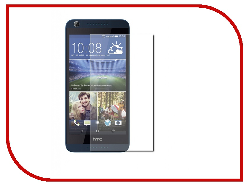 Аксессуар Защитная пленка HTC Desire 620G LuxCase суперпрозрачная 53119<br>