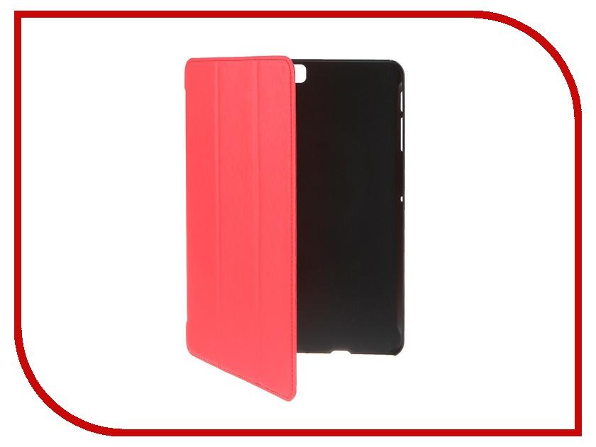 Аксессуар Чехол-книжка iBox for Samsung Galaxy Tab S2 T815 LTE 9.7 Premium Metallic Red