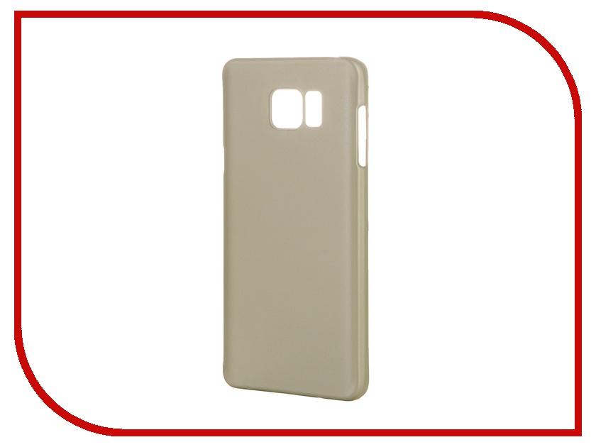 Аксессуар Чехол-накладка Samsung Galaxy Note 5 Deppa AirCase Gold 83210<br>