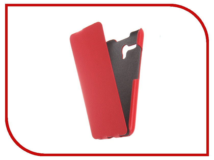 Аксессуар Чехол Alcatel OneTouch 5025D POP 3 iBox Premium Red