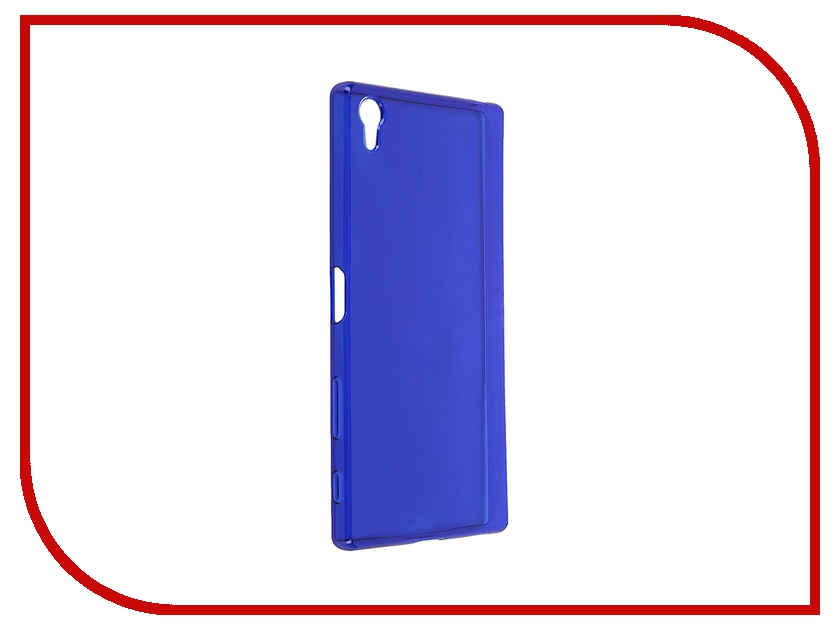 Аксессуар Чехол-накладка Sony Xperia Z5 Premium iBox Crystal Blue аксессуар чехол ibox slider universal 4 2 5 inch blue