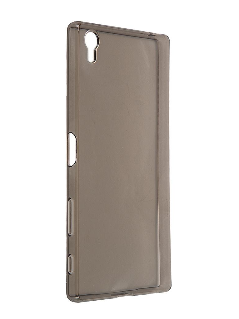 Аксессуар Чехол-накладка Sony Xperia Z5 Premium iBox Crystal Grey<br>