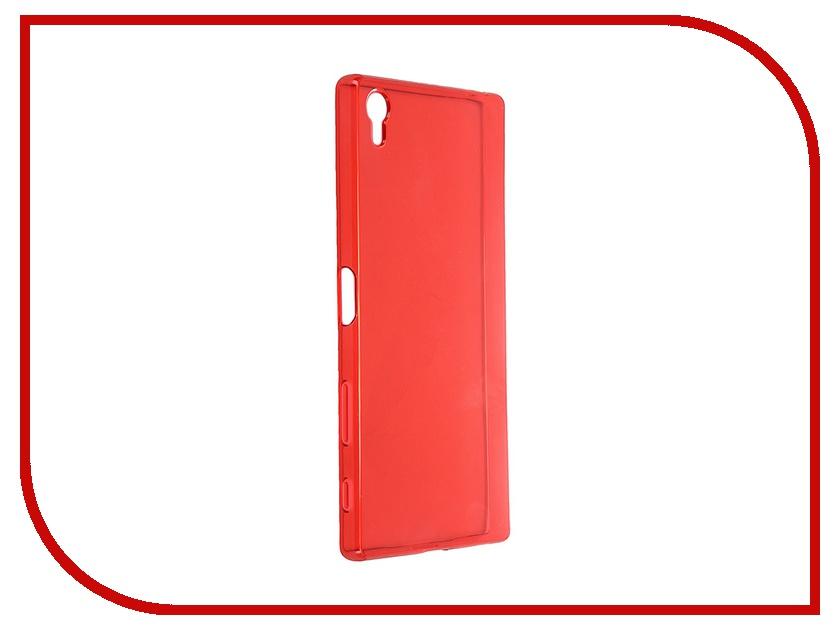 Аксессуар Чехол-накладка Sony Xperia Z5 Premium iBox Crystal Red<br>