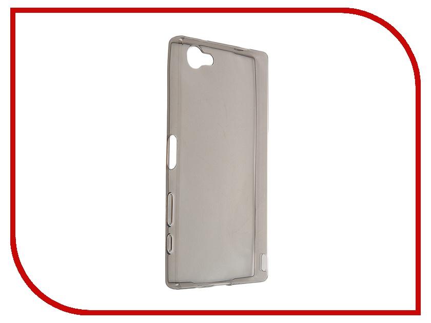 Аксессуар Чехол-накладка Sony Xperia Z5 Compact iBox Crystal Grey<br>