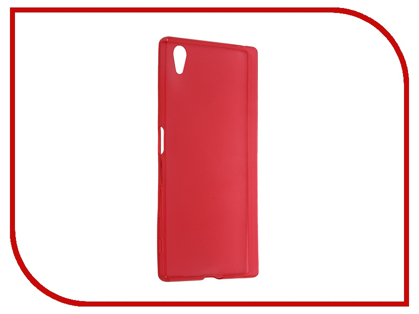 Аксессуар Чехол-накладка Sony Xperia Z5 iBox Crystal Red<br>