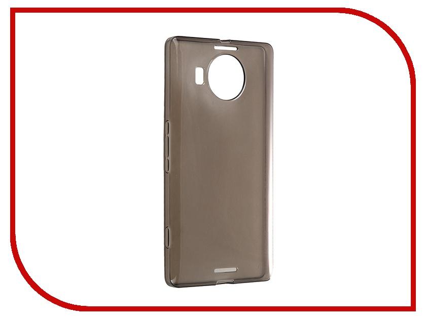 Аксессуар Чехол-накладка Microsoft Lumia 950 XL iBox Crystal Grey<br>