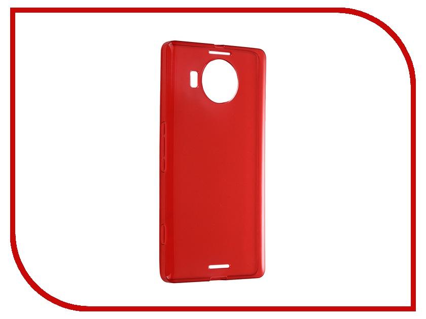Аксессуар Чехол-накладка Microsoft Lumia 950 XL iBox Crystal Red<br>