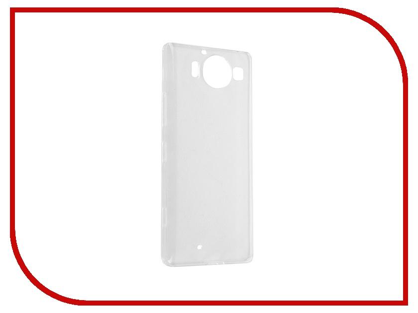 Аксессуар Чехол-накладка Microsoft Lumia 950 iBox Crystal Transparent