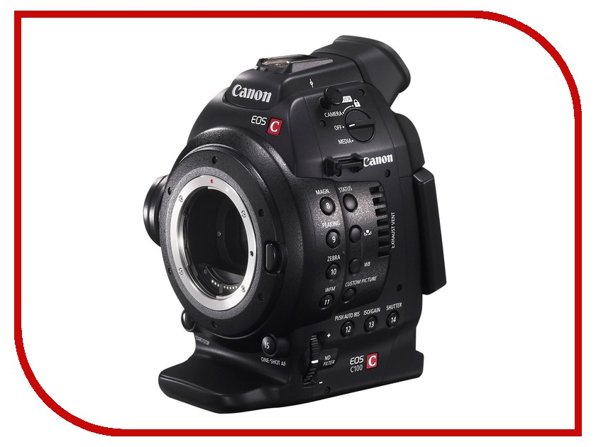 Видеокамера Canon EOS C100 DAF*