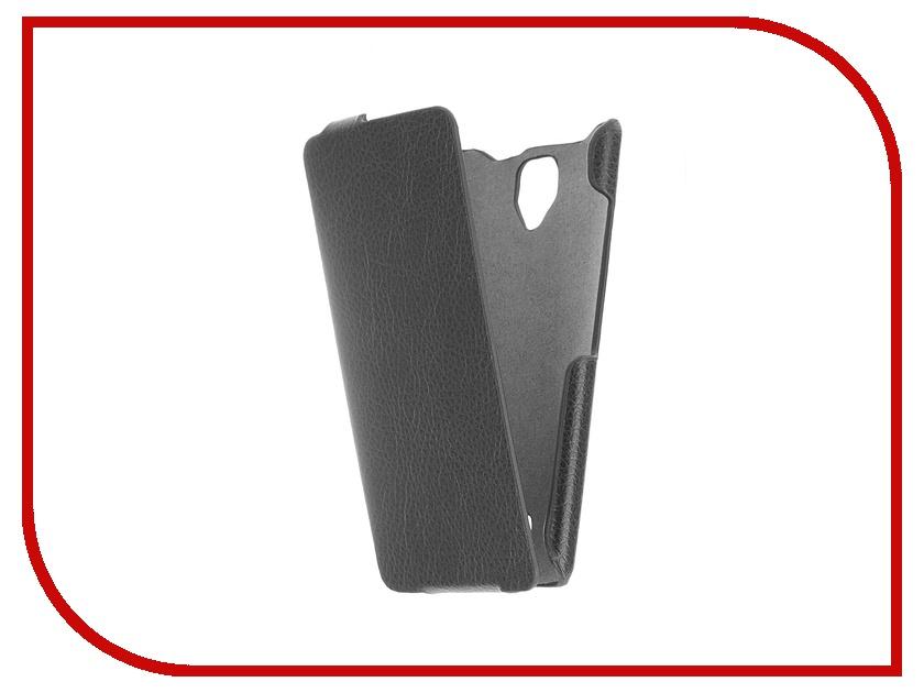 Аксессуар Чехол-флип Lenovo A2010 iBox Premium Black<br>