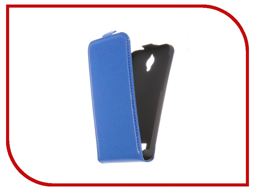 Аксессуар Чехол-флип ASUS ZenFone C ZC451CG Red Line Business Blue