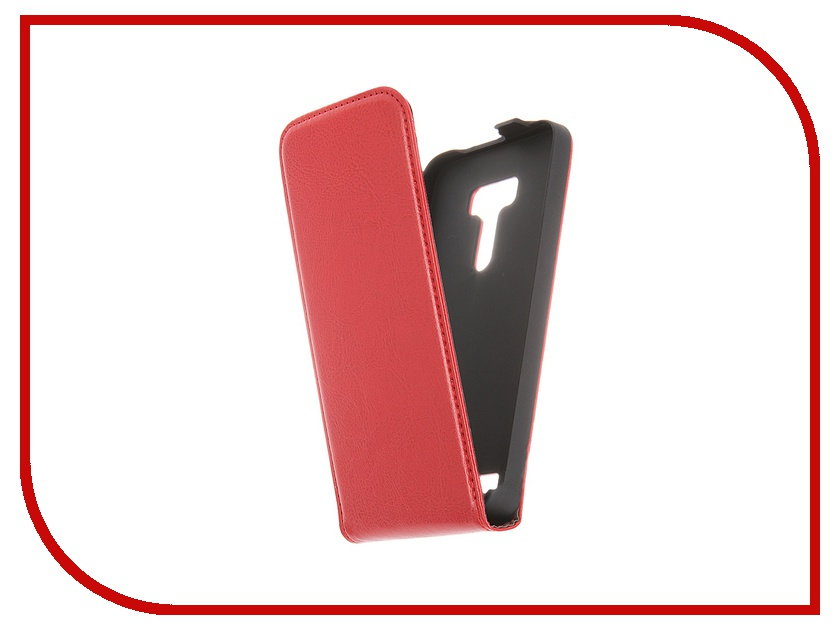 Аксессуар Чехол-флип ASUS ZenFone Selfie ZD551KL Red Line Business Red