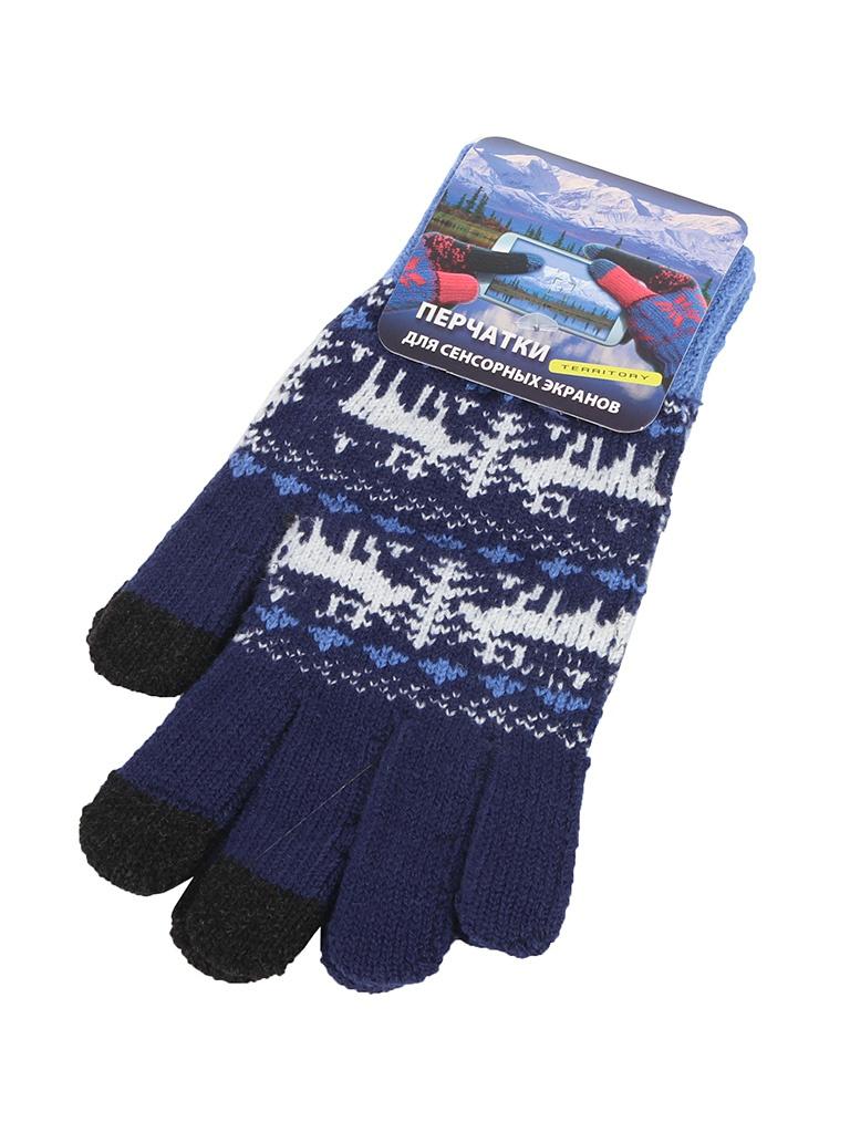 Теплые перчатки для сенсорных дисплеев Harsika р.UNI 0715 недорого