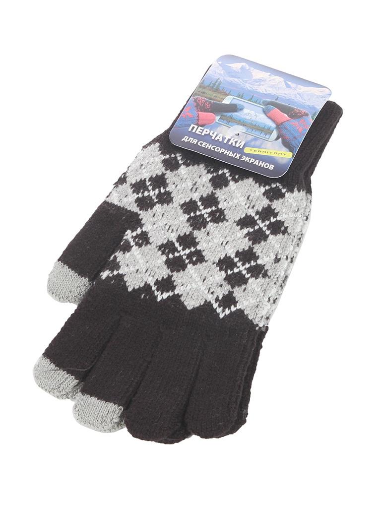 Теплые перчатки для сенсорных дисплеев Harsika р.UNI 1415