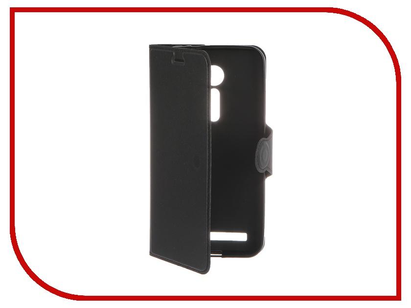 Аксессуар Чехол-книжка ASUS ZenFone 2 ZE500CL Red Line Book Type Super Sleek Black