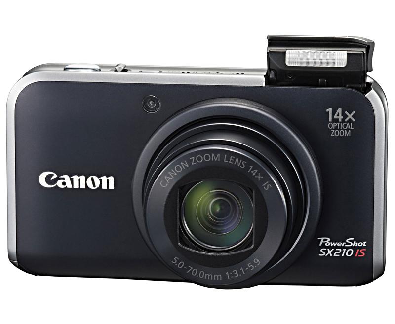 Фотоаппарат Canon PowerShot SX210 IS Black*