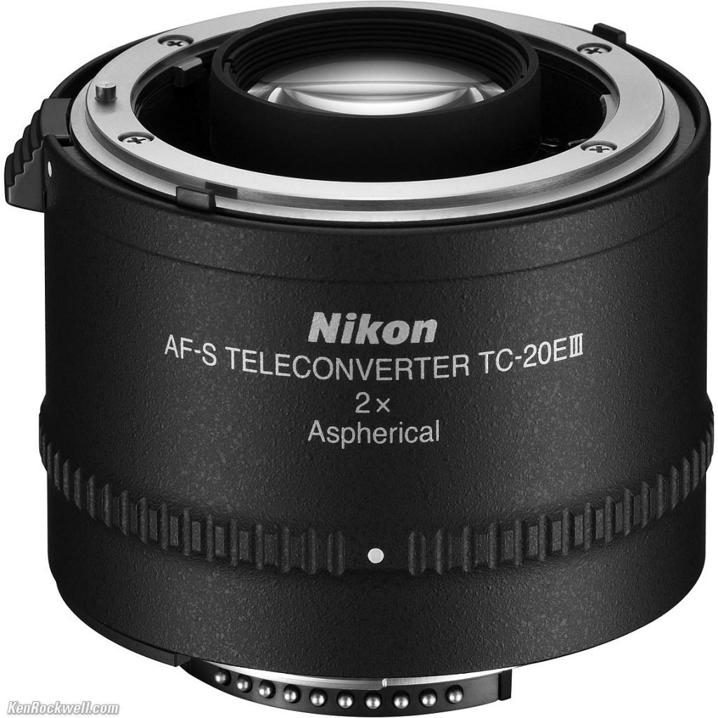 Конвертер Nikon TC-20E III AF-S 2x