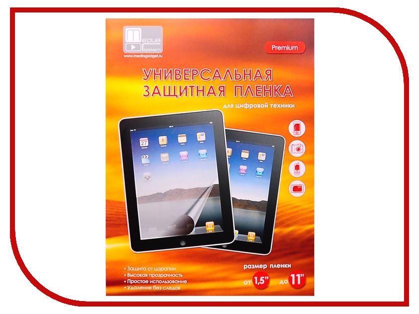 Аксессуар Защитная пленка универсальная Aksberry / Media Gadget Premium от 1.5 до 11 аксессуар защитная пленка sony xperia z5 premium aksberry матовая