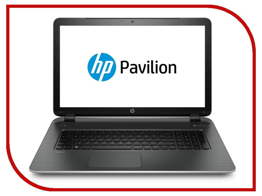 Ноутбук HP Pavilion 17-g104ur P0G96EA Intel Core i3-6100U 2.3 GHz/4096Mb/500Gb/DVD-RW/AMD Radeon R7 M360 2048Mb/Wi-Fi/Bluetooth/Cam/17.3/1600x900/Windows 10 64-bit<br>