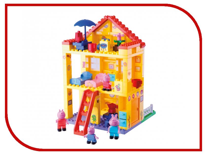 Конструктор Big Любимый дом Peppa Pig 57078 big конструктор ж д станция peppa pig 57079
