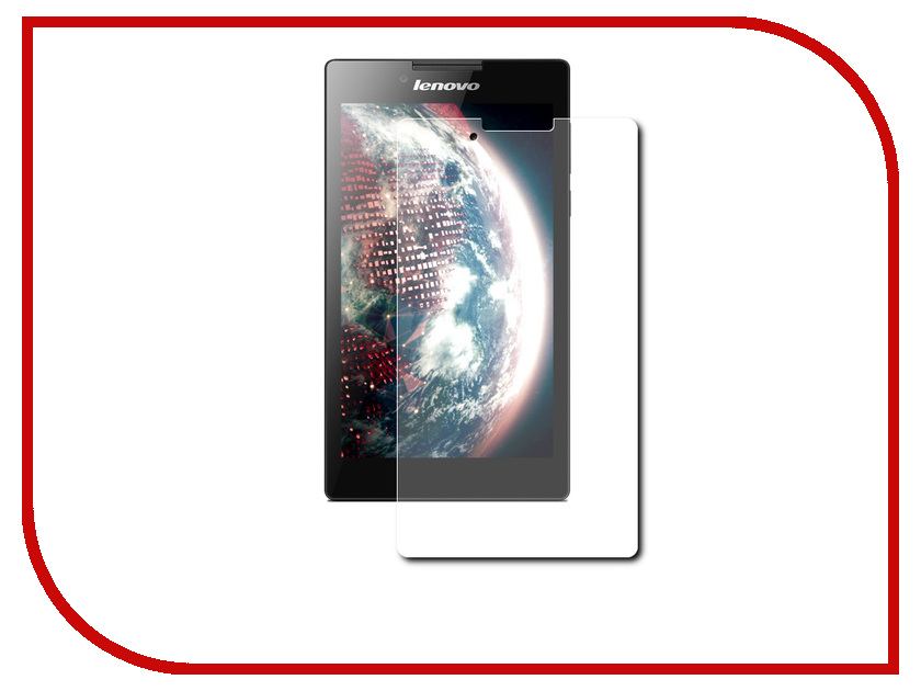 Аксессуар Защитная пленка Lenovo IdeaTab 2 A7-30 LuxCase суперпрозрачная 51068 аксессуар чехол lenovo ideatab s6000 g case executive white