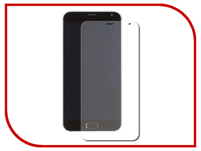 Аксессуар Защитная пленка Meizu MX5 LuxCase суперпрозрачная 54814