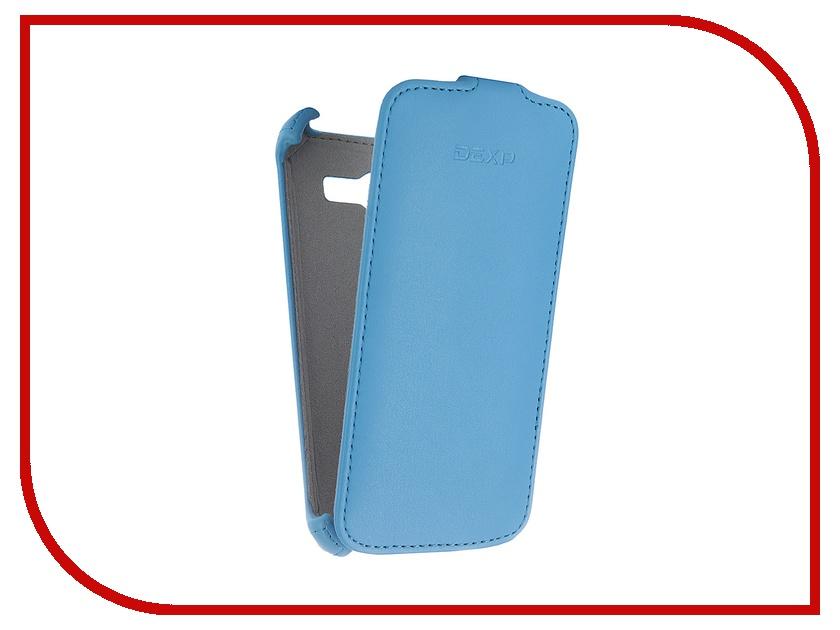 Аксессуар Чехол-флип DEXP Ixion E145 Blue<br>