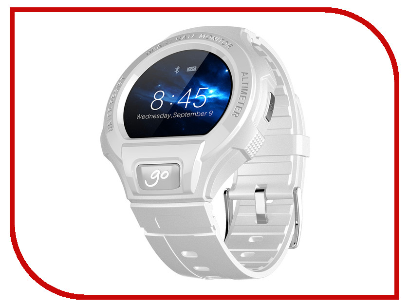 Умные часы Alcatel OneTouch Watch Go SM03 White-Grey<br>