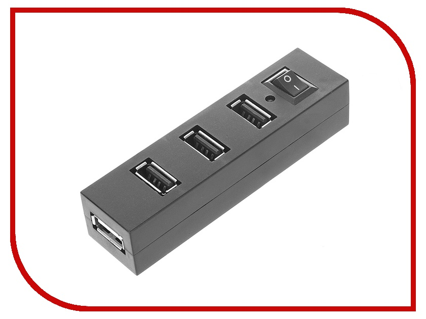 Хаб USB Orient TA-400 USB 2.0 4 Ports хаб usb gembird 4 ports uhb c244