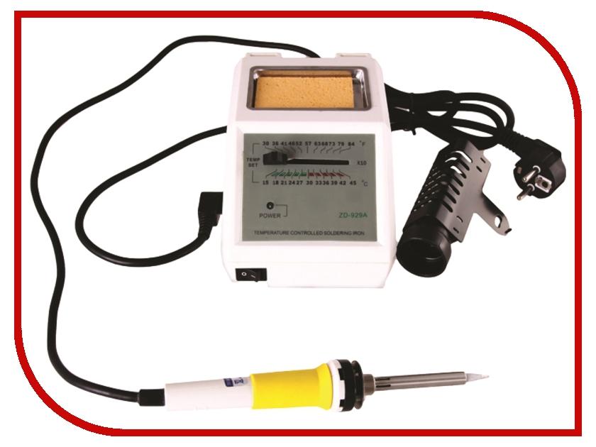 Паяльная станция Rexant ZD-929A 12-0141 паяльная станция с контролем температуры мини 220в 8вт rexant zd 928 12 0135