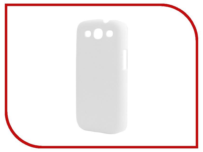 ��������� �����-�������� Samsung Galaxy S3 I9300 SkinBox 4People White T-S-SGS3-002 + �������� ������