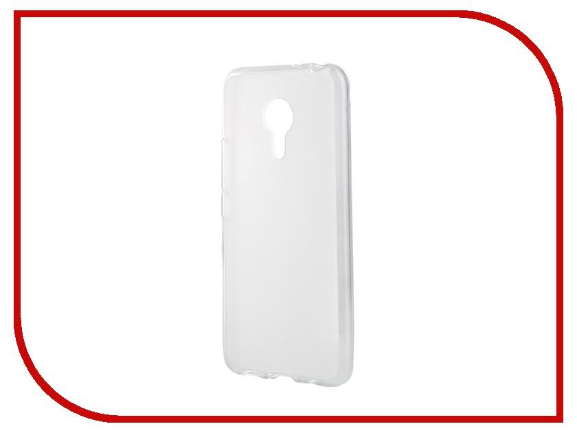 Аксессуар Чехол-накладка Meizu MX5 SkinBox Sheild Silicone Transparent T-S-MMX5P-005