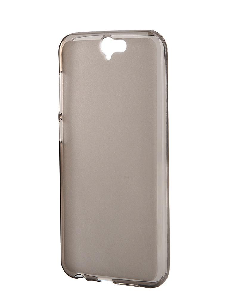 Аксессуар Чехол-накладка HTC One A9 SkinBox Sheild Silicone Brown T-S-HOA9-005<br>