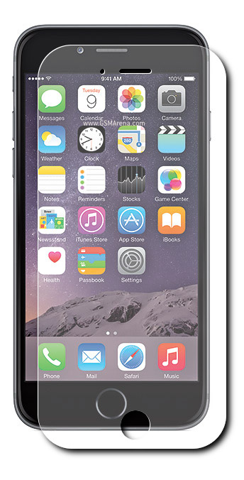 Аксессуар Закаленное стекло CBR / Human Friends Safe Mobile Shield 6 для iPhone 6