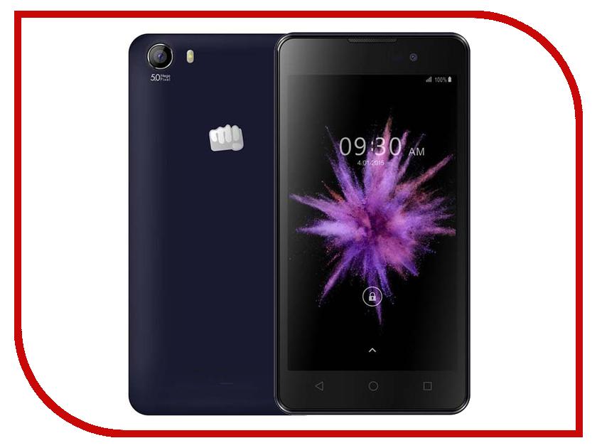 Сотовый телефон Micromax Q334 Canvas Magnus Blue сотовый телефон micromax q383 blue
