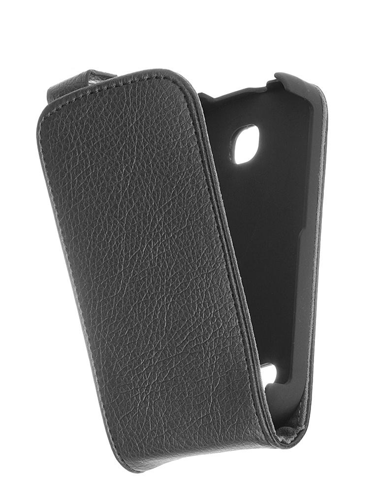 Аксессуар Чехол Haier W701 iBox Classic Black<br>