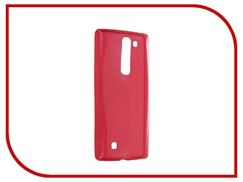 Аксессуар Чехол-накладка LG G4c / Magna iBox Crystal Red<br>