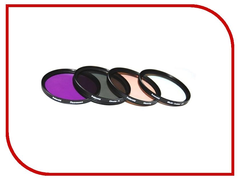 Светофильтр Polaroid UV-CPL-FLD-WARMING 55mm - набор фильтров PL4FIL55<br>