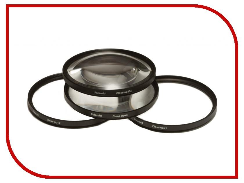Светофильтр Polaroid Close UP Filter Kit +1, +2, +4, +10 - 77mm - набор макролинз PLFILDCCL77