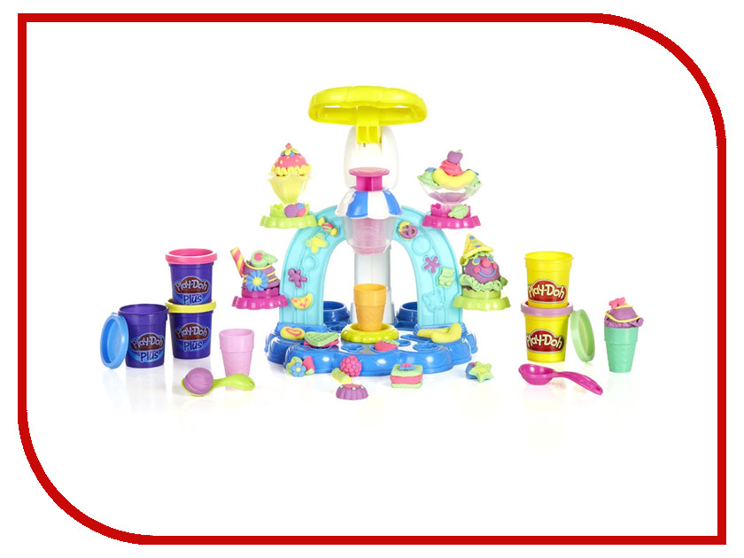 Игрушка Hasbro Play-Doh Фабрика мороженого B0306